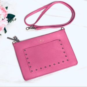 Authentic Kate Spade Studded Crossbody Leather Bag